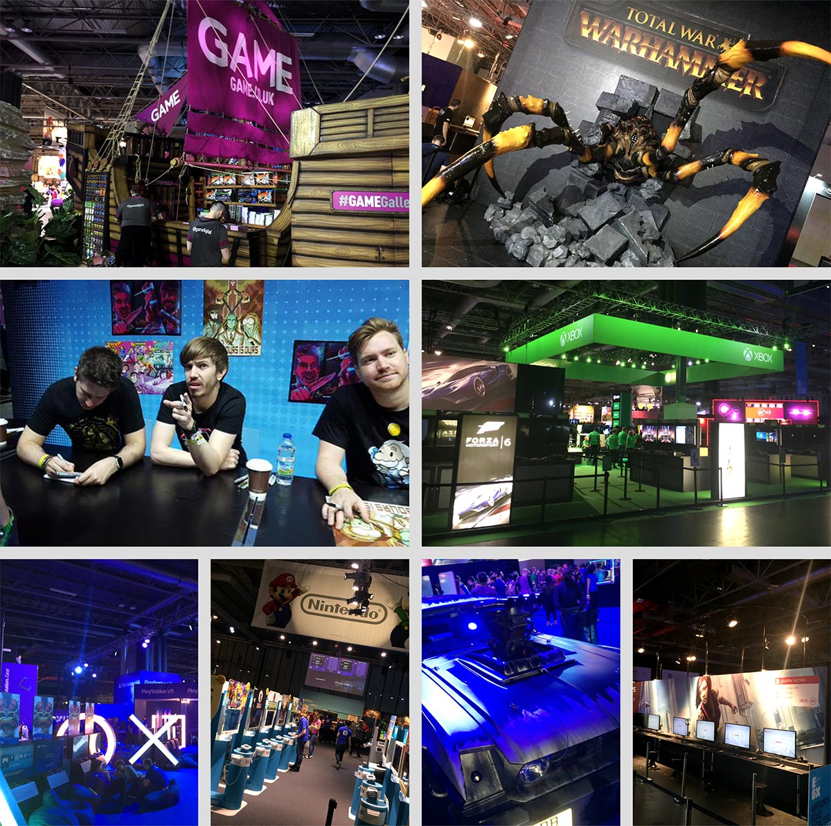 Images from EGX, Eurogamer Expo at the NEC, Birmingham