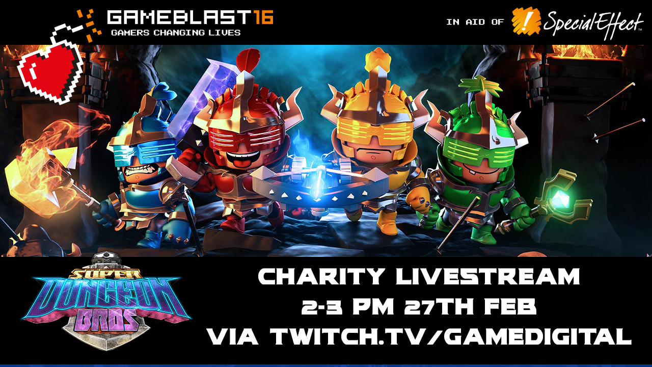 GameBlast 2016 in association with GAME Digital & SpecialEffect