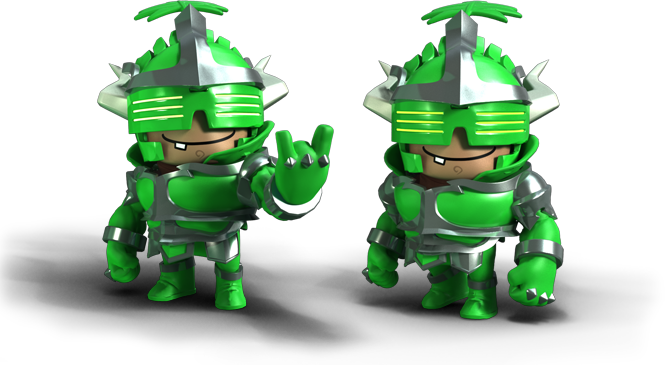 Meet the Super Dungeon Bros! Say hi to Ozzie #BrosB4Foes