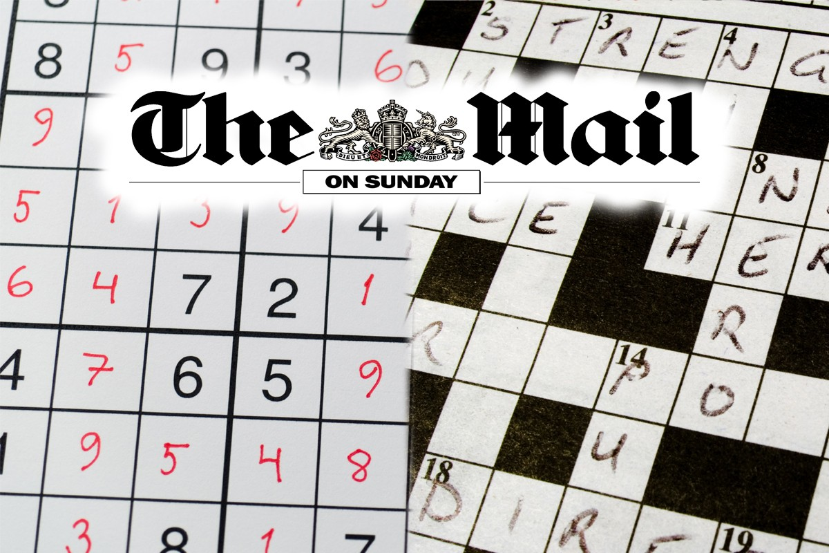Mail On Sunday Crossword | Wired Productions