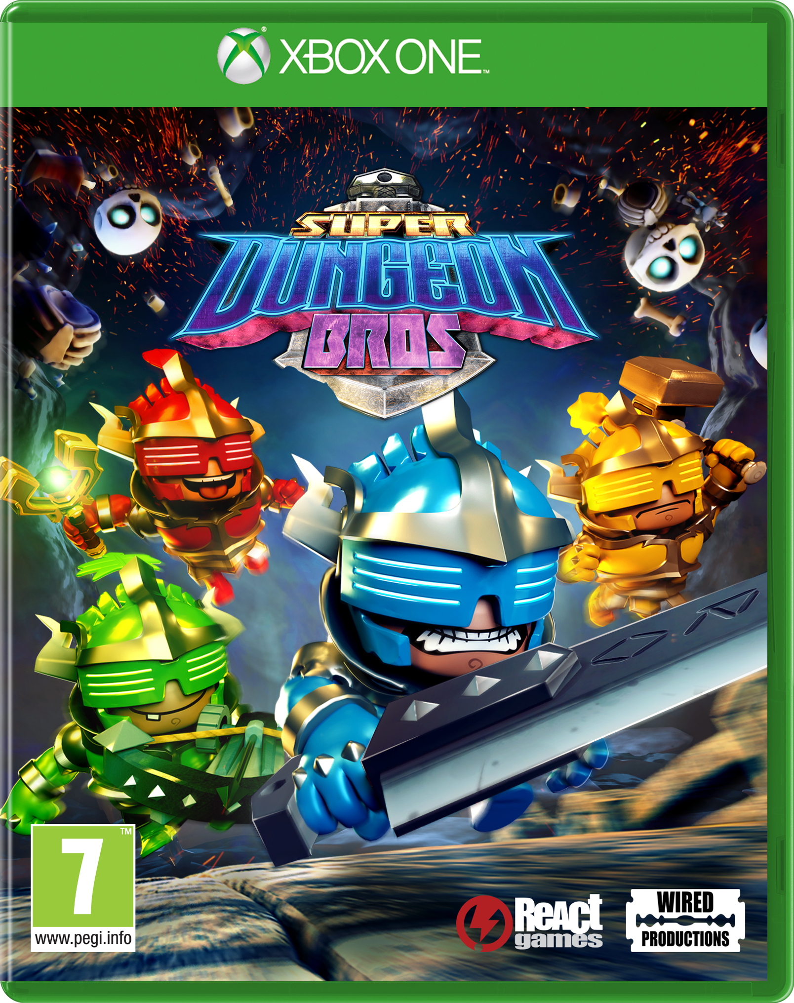 Super Dungeon Bros packshot