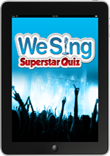 We Sing Superstar Quiz packshot